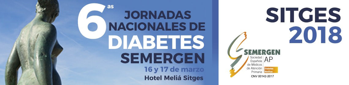 2018-02-23 6as Jorn Nac de Diabetes SEMERGEN cartel